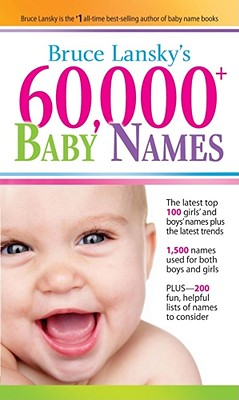 60,000+ Baby Names By Lansky, Bruce
